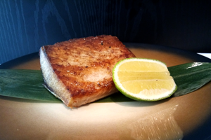 Seared Hamachi